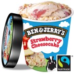 BEN & JERRY'S STRAWBERRY CHEESECAKE 458ml - 1 TUB:  ...