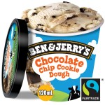 BEN & JERRY'S CHOCOLATE CHIP COOKIE DOUGH 120ml   - ...