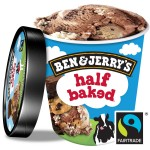 BEN & JERRY'S HALF BAKED 458ml - 1 TUB: 458ml