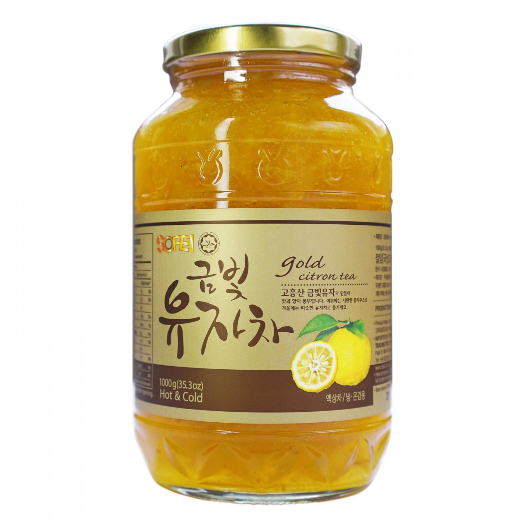 duwon gold citron tea