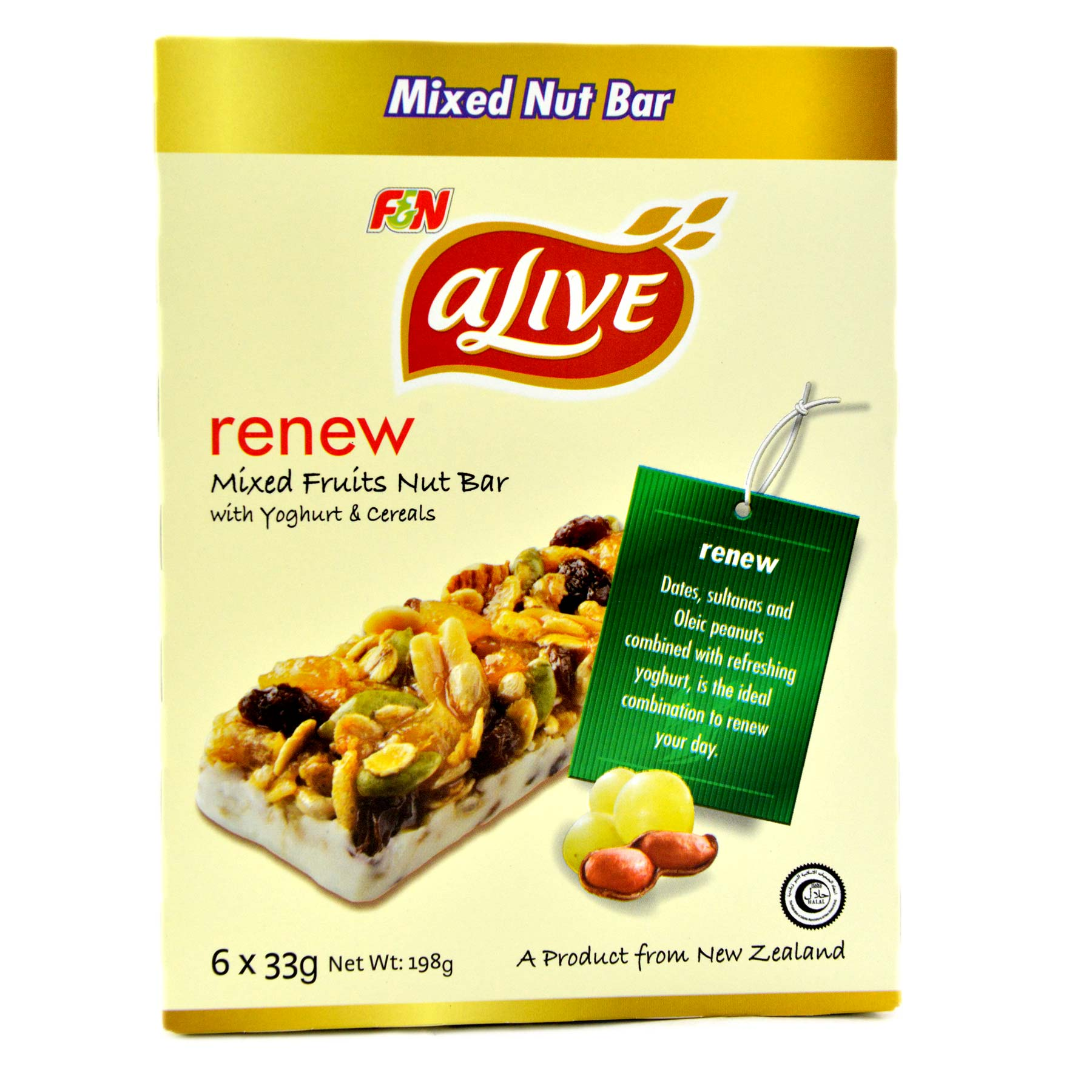 Alive Mixed Fruit Nut Bar