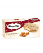 HAAGEN-DAZS CRISPY SANDWICH CARAMEL - 1 PACK