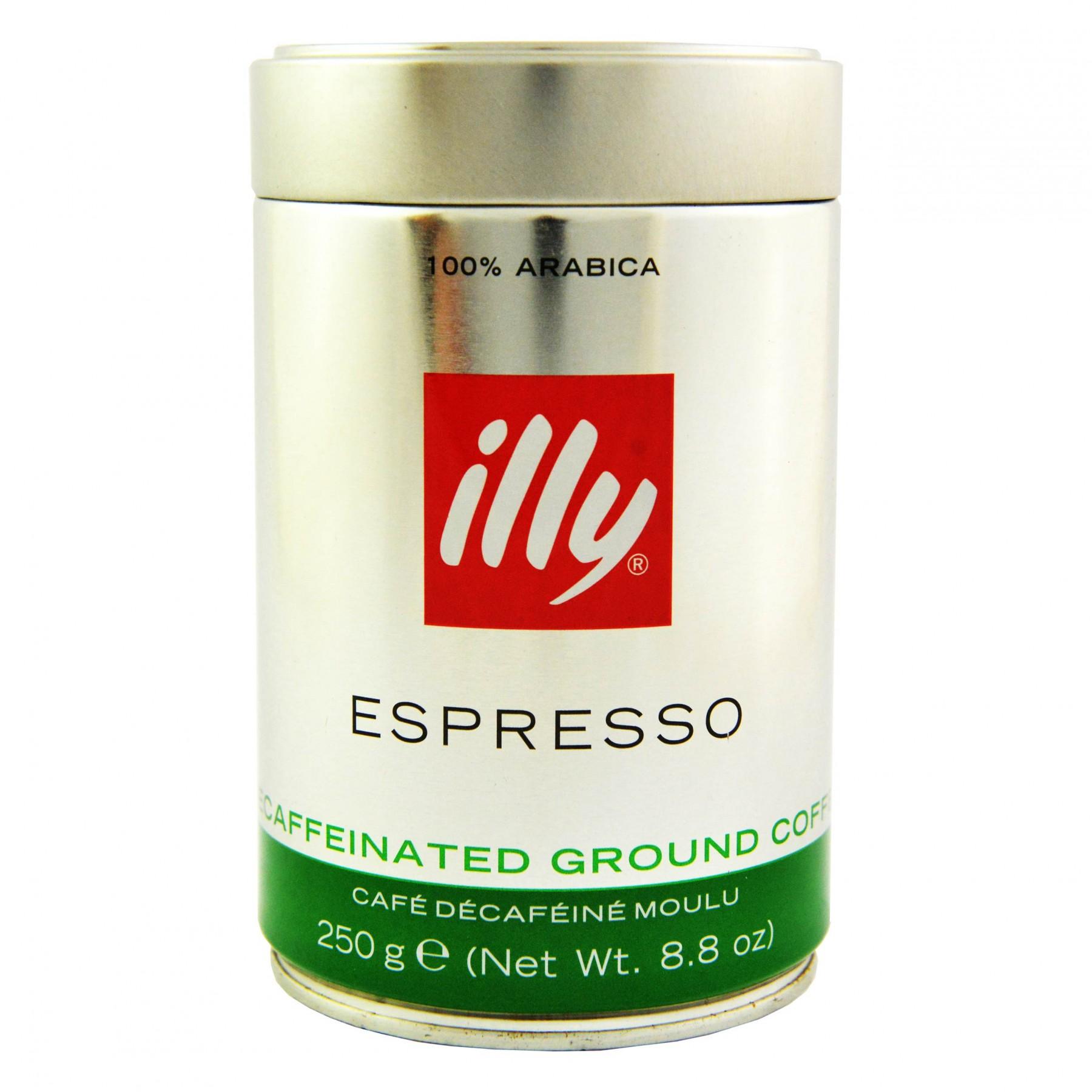 Illy Caffe Decaffeinated Coffee Powder