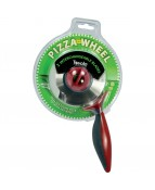 2 In 1 Pizza Wheel Cutter - 1 PCS