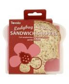 Sandwich Shaper Ladybug Flower - 1 PC