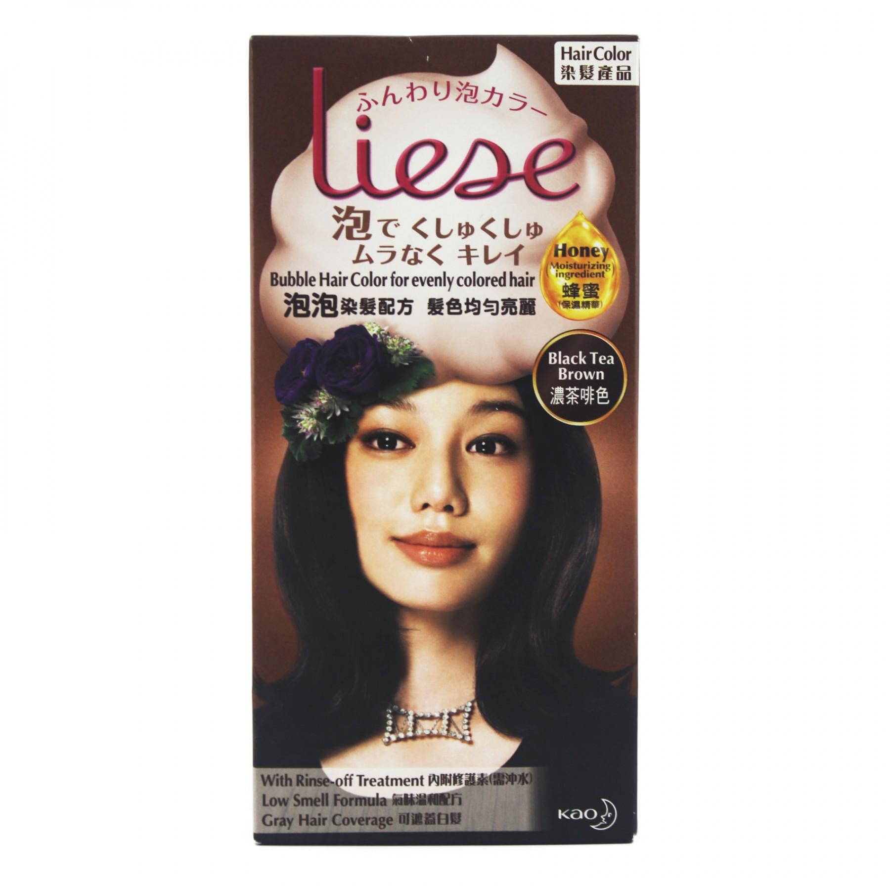 Liese Hair Colour Black Tea Brown