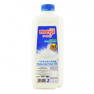 Meiji Pasteurized Fresh Milk 2l