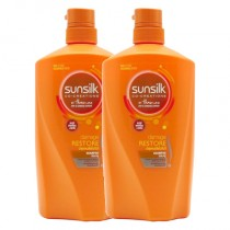 Sunsilk Damage Restore Shampoo 900ml - Bundle Deal: 2 x ...